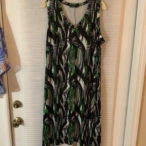 Women's jette Sleeveless Dress xl